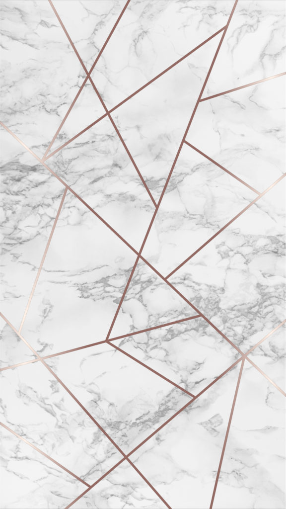 Marble And Rose Gold Geometric Phone Wallpapers The Blooming Journal